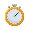 chronometer watch icon vector image