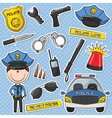 Police Officer vector image vector image
