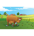 Farm Background vector image vector image