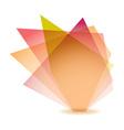 Pastel shard vector image vector image