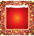 bright celebration background vector image
