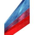 Independence Day abstract USA colors background vector image