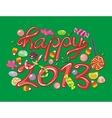 Happy 2013 vector image vector image