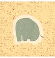 Children print Funny elephant vector image