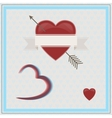 Happy Valentines Day 3D vector image