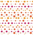 Abstract colorful stripes and shapes seamless vector image