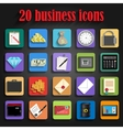 universal business icon vector image