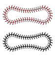 Baseball Lace Background3 vector image