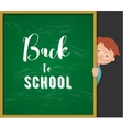 back to school - education creativity vector image