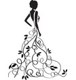 bridal shower4 vector image