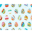 Seamless pattern with easter eggs EPS8 vector image