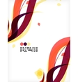 Colorful floral design templates vector image vector image