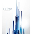 Abstract straight lines vector image
