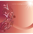decorative cover template sixty vector image