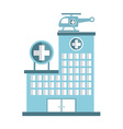 hospital design vector image