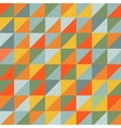 Geometric background Pattern of geometric shapes vector image