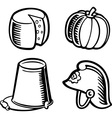 Isolated objects vector image