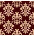 French fleur-de-lis seamless pattern background vector image