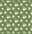 olive plant silhouette green pattern vector image