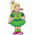 fat princess vector image