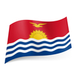 State flag of Kiribati vector image