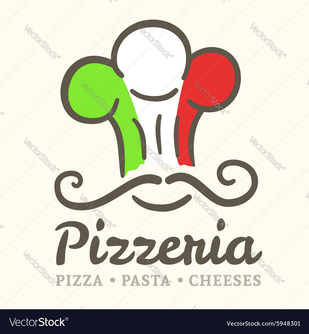 Pizzeria icon vector