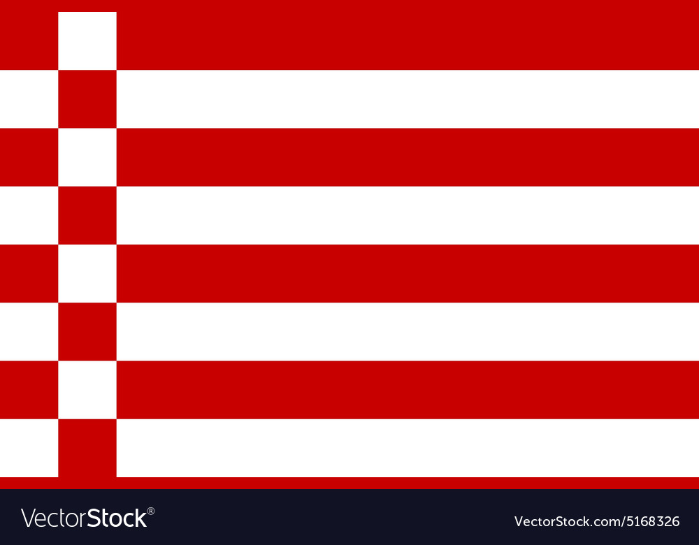 Bremen flag vector