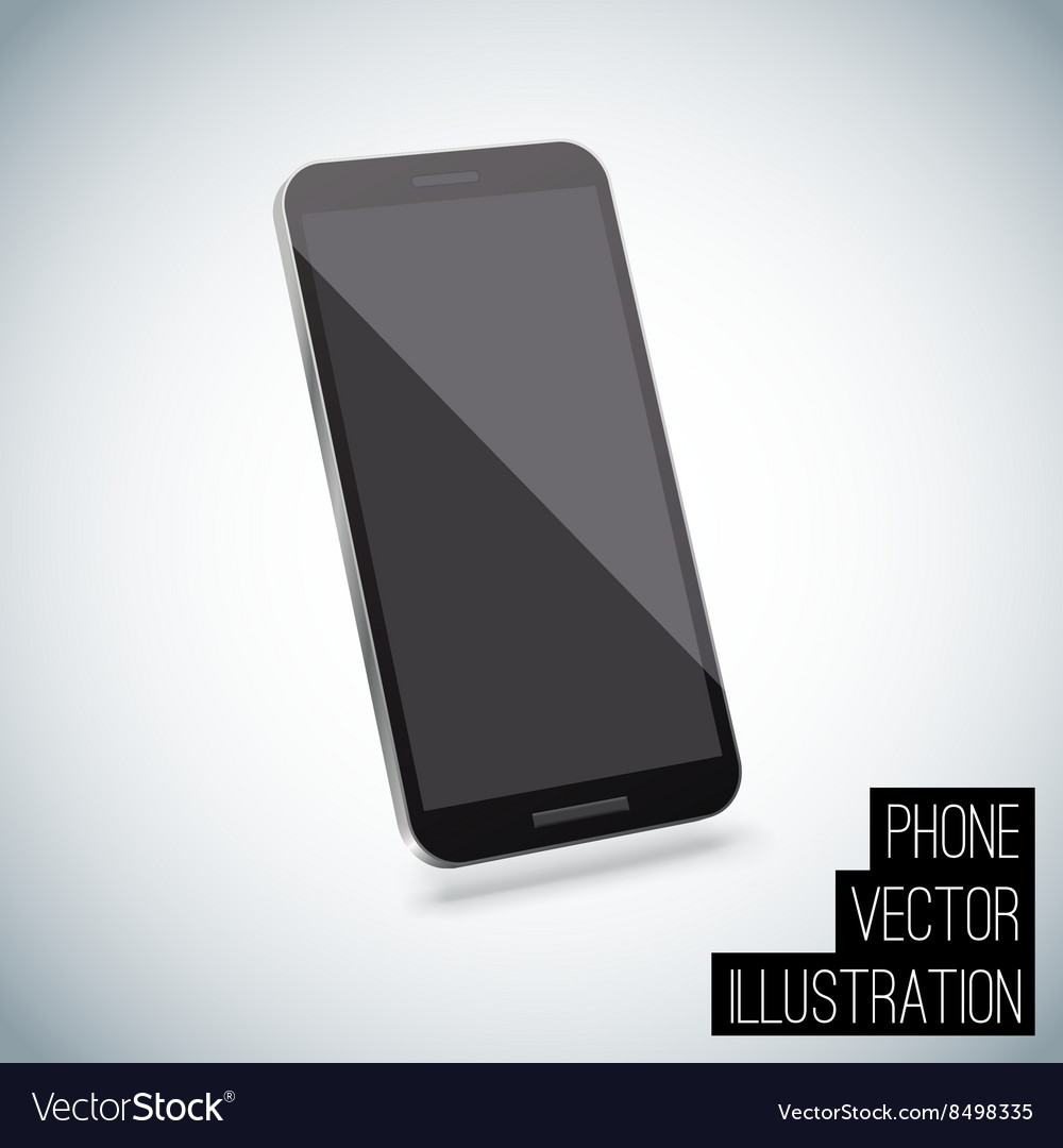 Realistic smart phone eps 10 vector