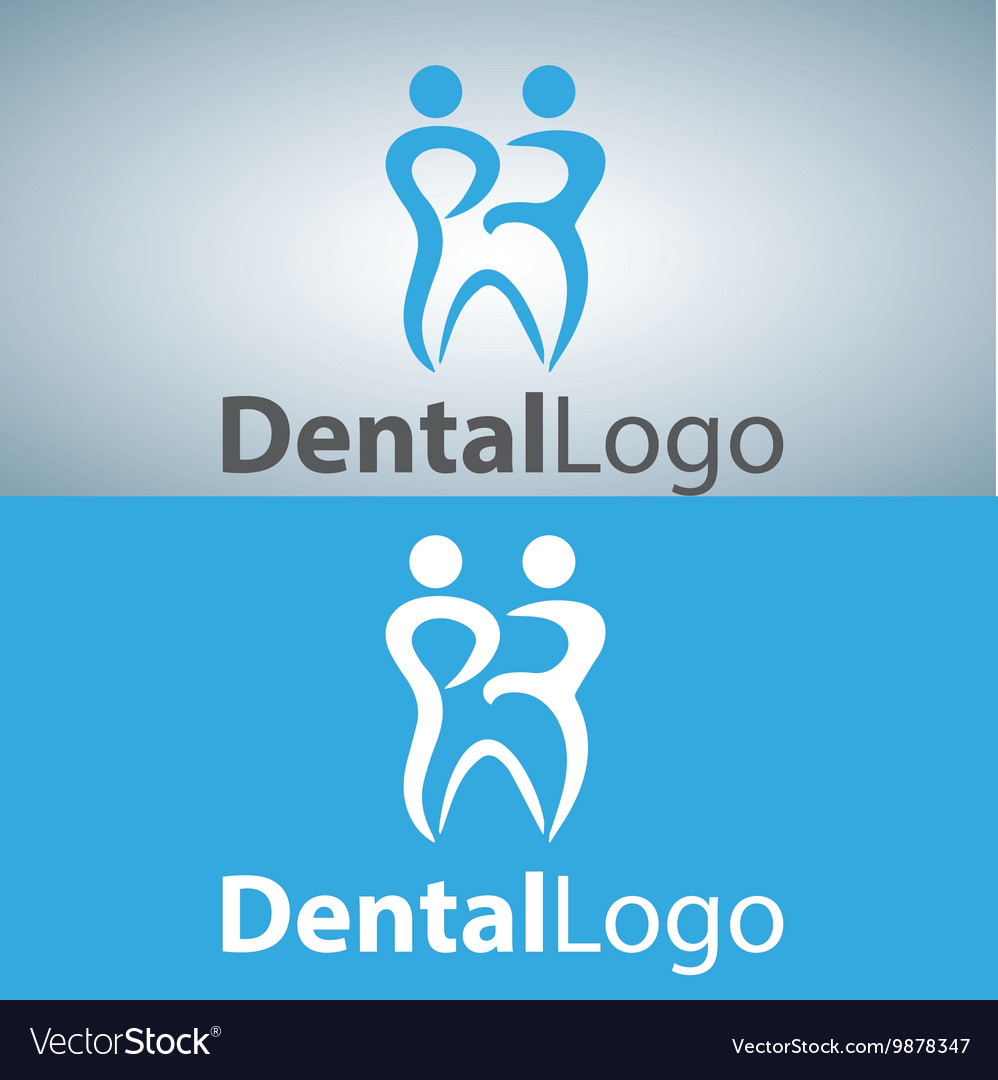 Dental logo 15 vector