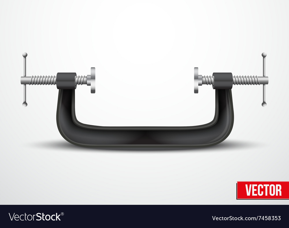 Large clamp compression tool conceptual vector