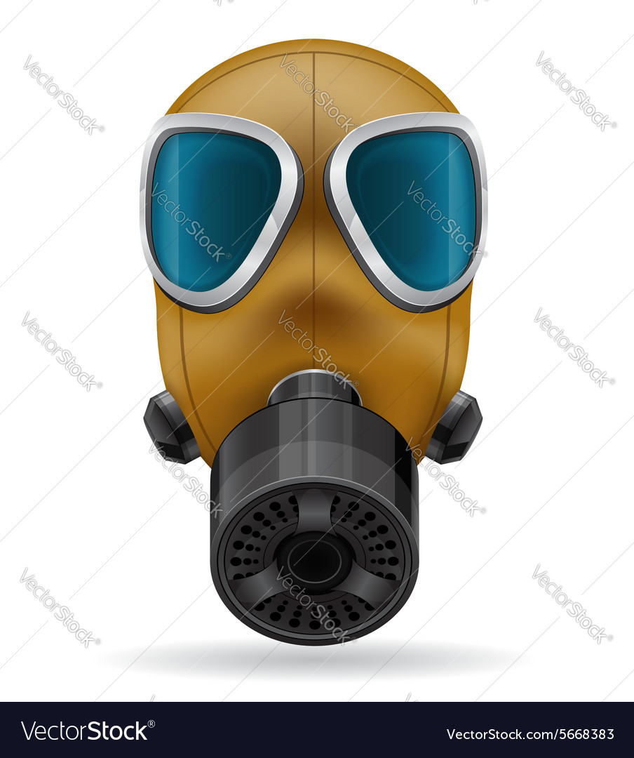 Gas mask 03 vector