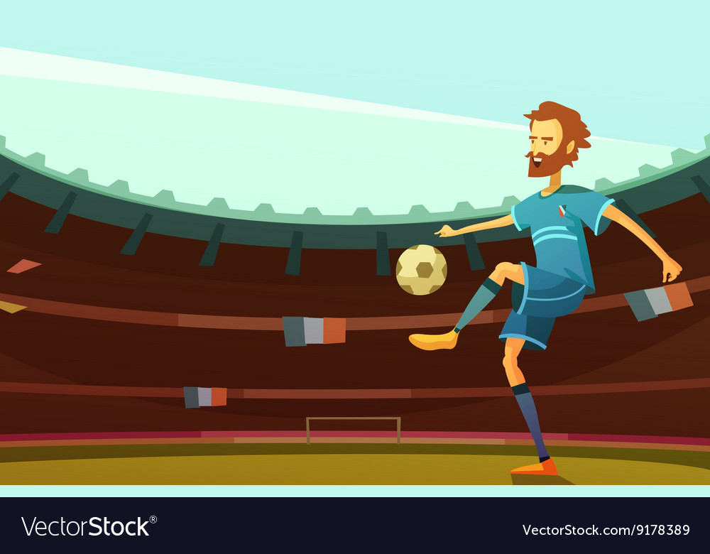 Euro 2016 background vector