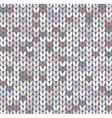 abstract knit pattern vector image vector image