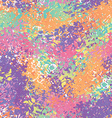 Abstract seamless pattern Splatter brush vector image