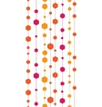 Abstract colorful stripes and shapes vertical vector image