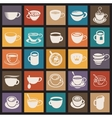 Coffee cup and Tea cup vector image