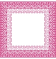 Tablecloth border pattern vector image