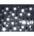 lights bulb vector image