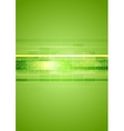 Hi-tech green abstract background vector image vector image