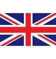 United Kingdom flag image vector image