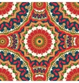 Abstract seamless pattern with a circular ornament vector image