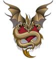 Greedy Dragon vector image