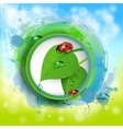 spring banner vector image