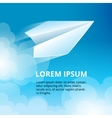 icon set of Origami plane collection vector image vector image