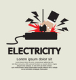 Electric Shock EPS10 vector image