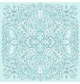 Green decorative ethnic background vector image