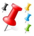 Office button Color plastic vector image