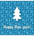 new tree vector image vector image