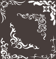 Pattern for the frame vector image