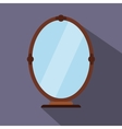 Mirror flat icon vector image